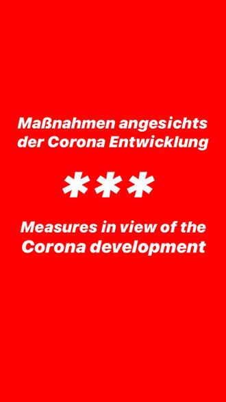 Maßnahmen/Measures
